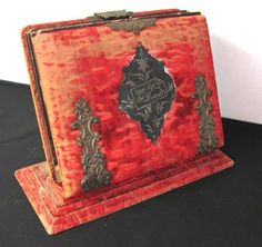 Antique Victorian Photo Album | Antique Victorian Photo Album with Stand | eBay