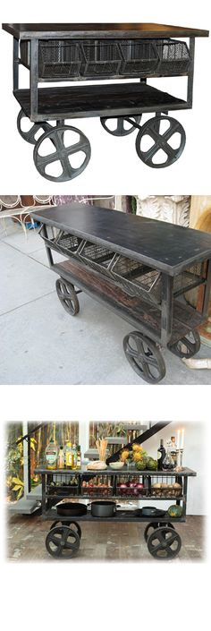Industrial Trolly on Wheels
