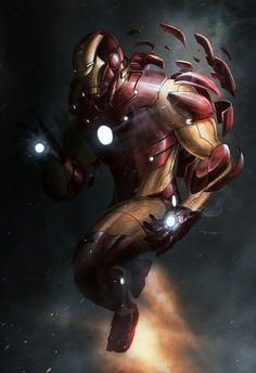 Awesome Iron Man artwork by Bill Dinh 98271240416f