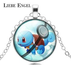 Find More Pendant Necklaces Information about LIEBE ENGEL 2016 Pokemon Necklace Pokeball Squirtl Glass Pendant Necklace Fashion Jewelry Unisex Gift,High Quality jewelry box gift,China jewelry led Suppliers, Cheap gift card jewelry from LIEBE ENGEL Official Store on Aliexpress.com