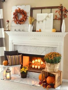 what I want to do to our fireplace and mantel