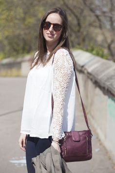 A special shoutout to Elza from Lyon with the .Kate Lee ANITA style in burgundy ! #katelee #style #design #anita