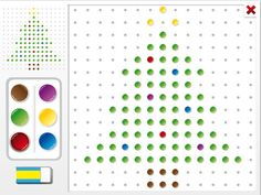 Christmas Pegboard by Cleverkiddo is a pegboard app where the child has to copy a christmas themed template unto a pegboard. Christmas Themes, Ipod Touch, Ipad, Child, Templates, Writing, Education, Iphone, Learning