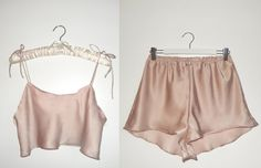 Marilyn Set in Candy Floss by AuroraLingerie on Etsy