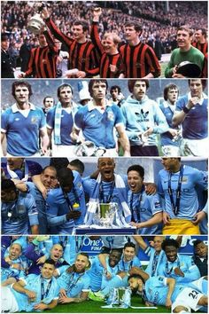 Manchester City League Cup winners 1970,1976,2014 & 2016. Best Football Team, Football Program, Football Soccer, Manchester City Wallpaper, Soccer Tips, English Premier League, Blue Moon, Kansas City, Retro