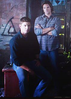 Sam and Dean Winchester, promo. #Supernatural. Jared Padalecki. Jensen Ackles. #Winchesters #SPN
