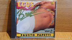 FAUSTO PAPETTI. ECOS DEL BRASIL. VOL. 2 - CD / KUBANEY-CANADÁ - 1989. 16 TEMAS / PRECINTADO.