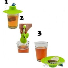 Perfect Home 12350 Teafilter tartó-bögrefedő