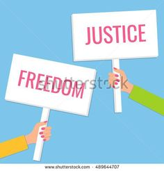 https://thumb1.shutterstock.com/display_pic_with_logo/2735209/489644707/stock-vector-hands-holding-protest-signs-political-propaganda-poster-revolution-placard-concept-flat-style-489644707.jpg