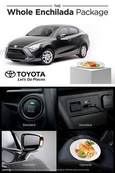 Yaris iA comes standard with pretty much everything. Explore more photos and features.