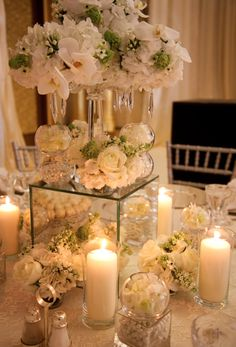 Crystals and Mirror table design!