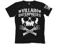 NJPW New Japan Pro Wrestling Marty Scurll Villain Enterprises T-shirt Villain Club ROH