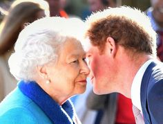 Prince Harry is knighted (by his own grandmother)