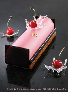 Beautiful creations from the pastry chef of APRECA organisation http://apreca.fr : Christophe Niel, Eric Bonneau & Vincent Catala from La Ba...