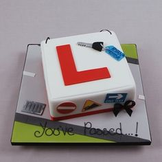 YouPassedDriver You Passed - Learner Driver Cake 17 Birthday Cake, Unique Birthday Cakes, 17th Birthday, Man Birthday, Cars Theme Cake, Car Themes, Cakes For Teenagers, Car Cakes For Men, Motorcycle Cake