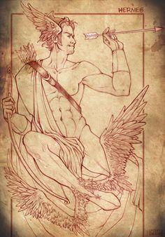 Hermes by DoroxDoro.deviantart.com on @deviantART