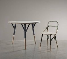 Chaise design Zelfo Elise Gabriel Galerie Gosserez