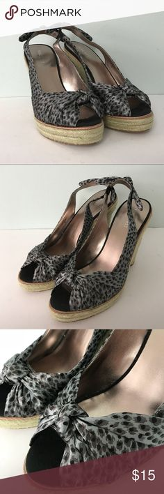 Nine West Marur Espadrilles. Size 8 Nine West Marur Espadrilles. Wedge slingbacks. Size 8 Nine West Shoes Espadrilles
