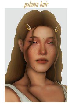 The Sims 4 Skin, Sims 4 Mm, Sims Games, Sims 4 Cc Finds, Ts4 Cc, Hair Pins, Long Hair Styles, Female Hair, Bed Room