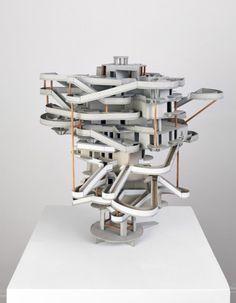 Maquette van Rémy Jacquier. Van mij mag ie gebouwd worden