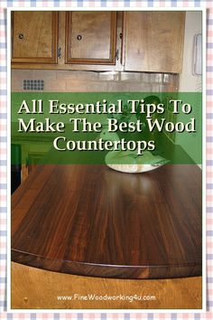 Wooden countertops lend a more organic and rustic feel, compared to other options such as stone and marble. #woodencountertops Fine Woodworking, Woodworking Projects, Wood Chopping Board, Wooden Countertops, Salvaged Wood, Rustic Feel, Two By Two, Marble, Organic