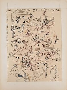 Jean Tinguely, 'Untitled'