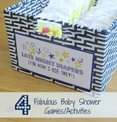 Four of the Best Baby Shower Games and Activities