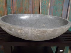 Balinese Natural River Stone Bathroom Basin Sink Bowl