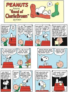 Peanuts by Charles Schulz for Sun 22 Dec 2019 Snoopy Comics, Fun Comics, Snoopy Love, Snoopy And Woodstock, Peanuts Cartoon, Peanuts Gang, Peanuts Comics, Peanut Pictures, Peanuts By Schulz