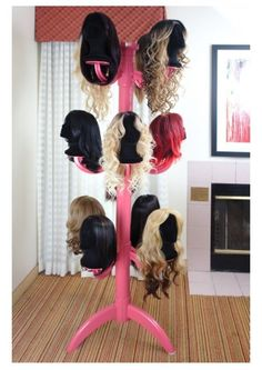 Wig Chateau Premium Wig Display and Storage System Prefundia coming soon page Beauty Room, Hair Beauty, Diy Wig, Design Salon, Hair Stores, Wig Stand, Business Hairstyles, Wigs For Sale, Wig Making