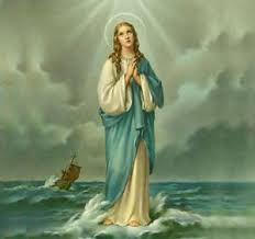 Resultado de imagen para oracion del rosario de la virgen stella maris