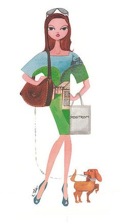 Ruben Toledo is one of my favorite fashion illustrators