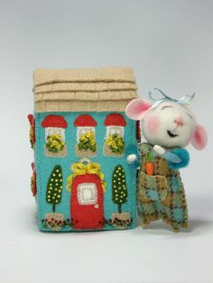 Dressed Mouse/Bunny Class  Needle Felting Class to door barby303, $45.00