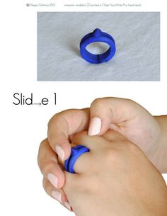 Fidget Rings help to increase focus in children who can't sit still or are diagnosed with ADHD. Repinned by Autism Classroom. Follow us at http://www.pinterest.com/autismclassroom/