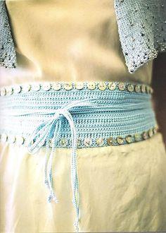 Ravelry: Button Crochet Belt pattern by Jennie Atkinson