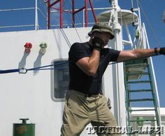 ONLINE EXCLUSIVE: On Deck Workout: No gym? No problem. Staying fit (at 55) while guarding a cargo ship against Somali pirates.
