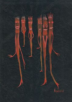 '6 GIRLFRIENDS' by marachowska on artflakes.com as poster or art print $27.72