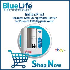 Items for sale by bluelife_eshoppe Aquafresh Ro, Kent Ro, Ro Water Purifier, Healthy Water, Art And Technology, E Bay, Drinking Water, Stainless Steel, India