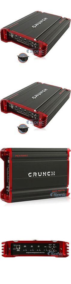 car amplifiers crunch px 1000 4 1000 watt 4 channel powerful car car amplifiers crunch pzx1000 1 1000w monoblock class ab pzx car amplifier car audio