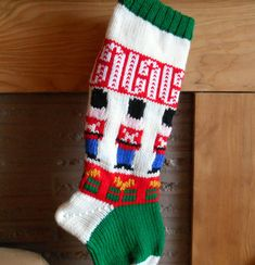 Personalized Nut Cracker Christmas Stocking by GrandmaJansCorner, $39.50