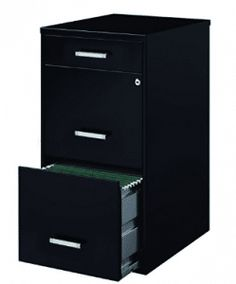 Space Solutions Metal File Cabinet with Pencil Drawer and Lock 4 Drawer File Cabinet, Cabinets, Drawers, Pencil, Space, Storage, Metal, Top, Home Decor