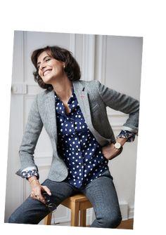 UNIQLO   Collaboration avec Ines de la Fressange veste grise