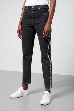Seattle Raw Black - Black - Jeans - Weekday DE