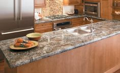 Formica Kitchen Countertops, Types Of Countertops, Laminate Countertops, Narrow Kitchen, Custom Cabinets, Kitchen Remodel, New Homes, Kitchens, Kitchen Ideas
