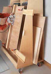ShopNotes Magazine - Panel-Cutting Lumber Cart - Extra