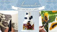 Innovative Buttercream Cakes