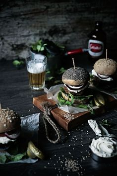 gourmet burger photography - Google Search