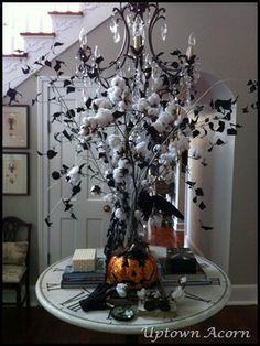 Cotton branches arrangement