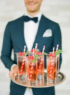 Summer cocktails with red striped straws Winter Wedding Drinks, Red Wedding, Wedding Photos, Winter Weddings, Wedding Bells, Wedding Reception, Wedding Stuff, Wedding Desert, Woodsy Wedding