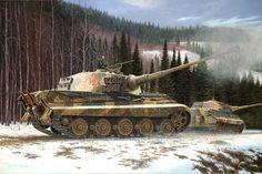 German Heavy Tank: PzKpfw VI-II King Tiger